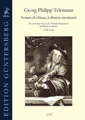 Telemann Sonata di chiesa a diversi stromenti g-Moll TWV 41:g5