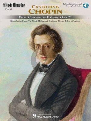 Chopin Concerto No.2 f-minor Op.21 Piano-Orchestra (Bk-2 CDs) (MMO)