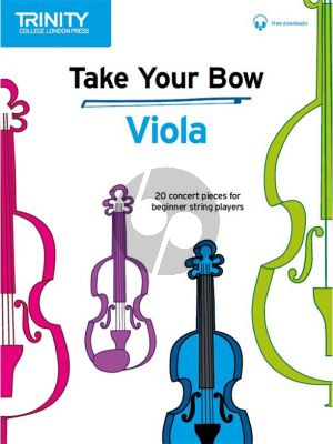 Cobb-Yandell Take your Bow for Viola (Viola-Piano) (Book with Audio online)