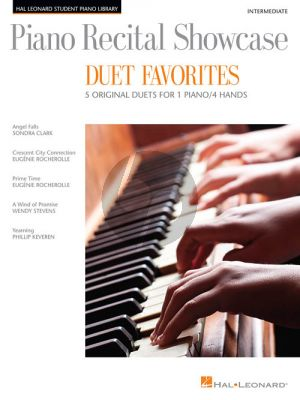 Piano Recital Showcase Duet Favourites