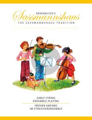 Sassmannshaus Early String Ensemble Playing (First steps in string ensemble playing)