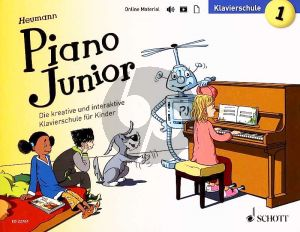 Heumann Piano Junior Klavierschule 1 (Book with Audio online) (deutsch)