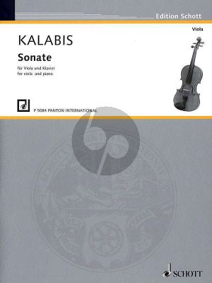 Kalabis Sonate Op.84 Viola-Klavier (1997)