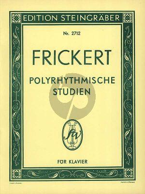 Frickert Polyrhythmische Studien Klavier