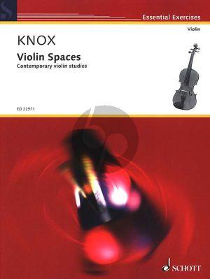 Knox Violin Spaces Vol.1 (Contemporary Violin Studies)
