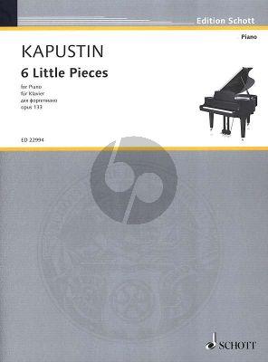Kapustin 6 Little Pieces Op.133 Piano solo