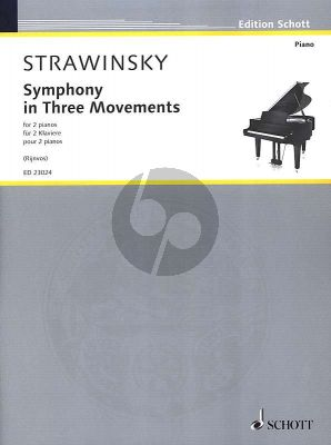 Symphony in Three Movements for 2 Piano's