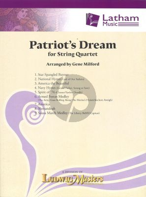 Patriot's Dream for String Quartet
