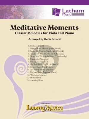 Meditative Moments Viola-Piano