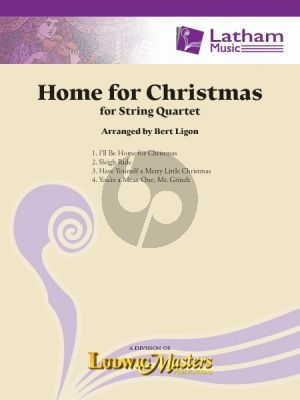 Home for Christmas for String Quartet (Score/Parts) (arr. Bert Ligon)