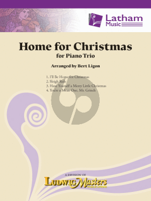 Home for Christmas for Piano Trio