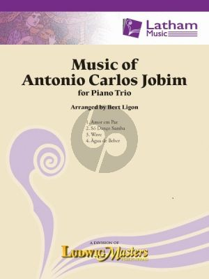 Music of Antonio Carlos Jobim for Piano Trio (Score/Parts) (arr. Bert Ligon)