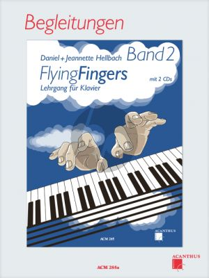 Hellbach Flying Fingers Vol.2 Begleitungen (Lehrgang für Klavier)