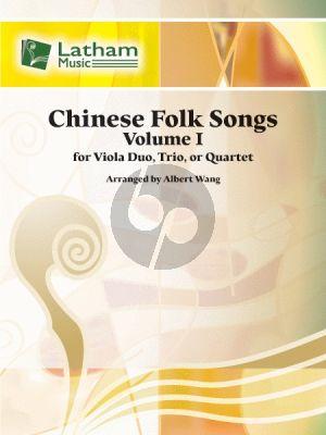 Chinese Folk Songs Vol. 1 2-4 Violas (Score/Parts) (arr. Albert Wang)