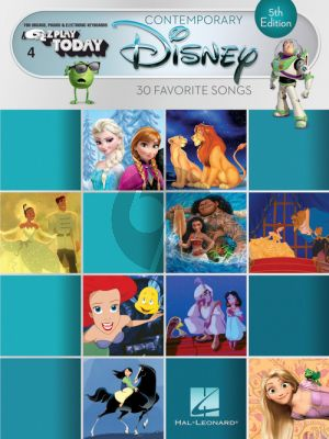 Contemporary Disney - 5th Edition (E-Z Play Today Volume 3)