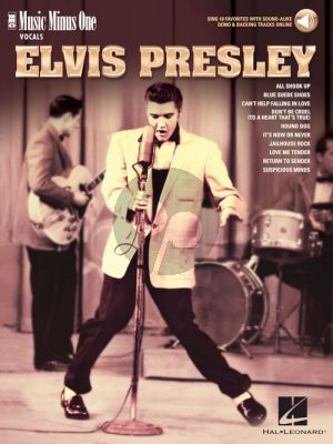 Elvis Presley - 10 Favorites (with Sound-Alike Demo & Backing Tracks - MMO) (Book with Audio online)