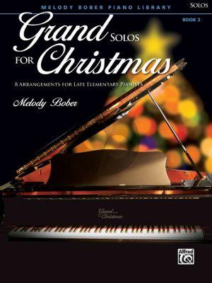 Bober Grand Solos for Christmas Book 3