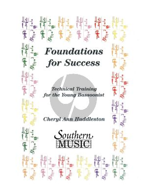 Huddleston Foundations for Success for Bassoon (Technical Training for the Young Bassoonist)