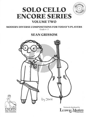 Grissom Solo Cello Encore Series: Volume 2