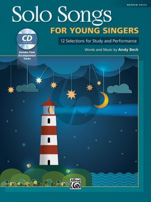 Beck Solo Songs for Young Singers Medium Voice (12 Selections for Study and Performance) (Bk-Cd)