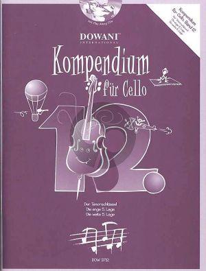 Kompendium für Cello Vol. 12 (Bk-Cd)