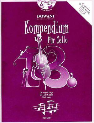 Kompendium für Cello Vol. 13 (Bk-Cd)