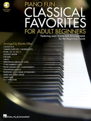 Piano Fun Classical Favourites for Adult Beginners (Book & Audio Online) (Arr. Brenda Dillon)