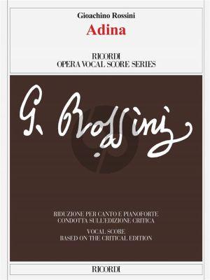 Rossini Adina Vocal Score (Ital-Eng) (Edizione critica F. Della Seta - Riduzione per canto e pianoforte)