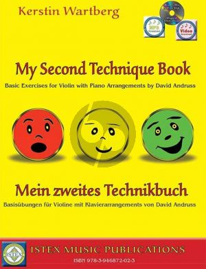 Wartberg Mein zweites Technikbuch Violine (mit Klavier) (Buch mit CD und Audio online)