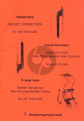 Secret Connection für 2 - 4 Violoncelli (Part./Stimmen)