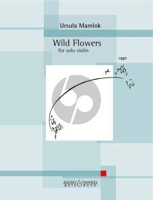 Mamlok Wild Flowers Violin and Piano (1987)