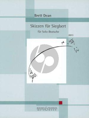 Dean Skizzen für Siegbert Viola solo