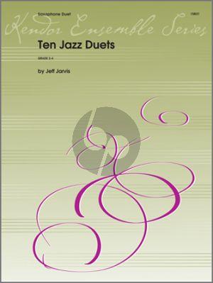 10 Jazz Duets 2 Alto (or Tenor) Saxophones