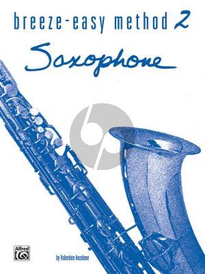 Anzalone Breeze Easy Method Vol.2 Saxophone