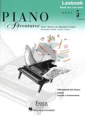 Faber Piano Adventures Lesboek 5 Boek Nederlandse editie