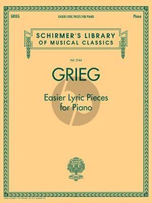 Grieg Easier Lyric Pieces for Piano