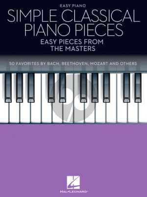 Simple Classical Piano Pieces (Easy Pieces from the Masters)