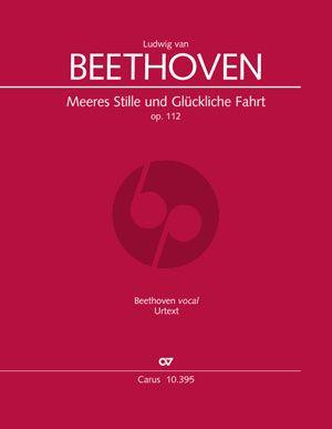 Beethoven Meeres Stille und Glückliche Fahrt Opus 112 (Chor-Orchester Partitur) (Sven Hiemke)