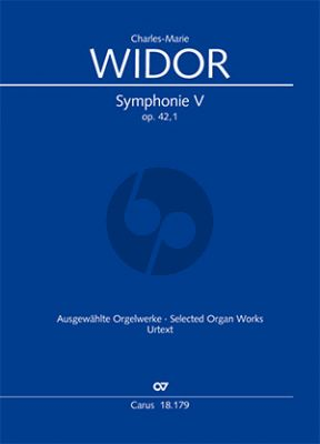 Widor Symphonie No.5 Opus 42/1 Orgel (Georg Koch)