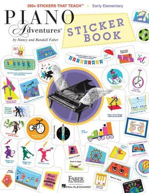 Faber Piano Adventures Sticker Book