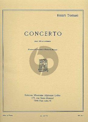 Tomasi Concerto Viola et Orchestre (piano reduction)