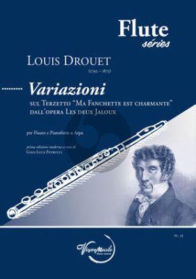 Donizetti Variazioni Flute and Piano (or Harp)