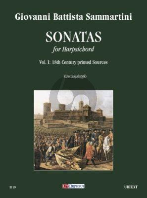 Sammartini Sonatas Vol. 1 for Harpsichord (from 18th century printed sources) (edited by Claudio Bacciagaluppi)
