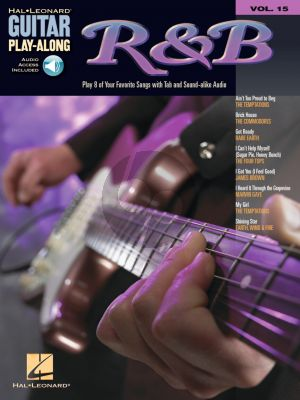 R & B Guitar Play-Along Vol. 15 (Book with Audio online)