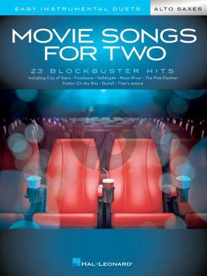 Movie Songs for 2 Alto Saxophones (arr. Mark Phillips)