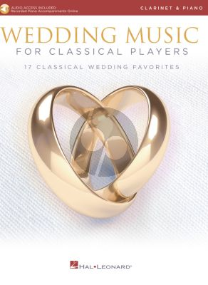 Wedding Music for Classical Players – Clarinet and Piano