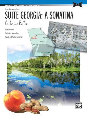 Rollin Suite Georgia: A Sonatina Piano Solo (Late Intermediate)