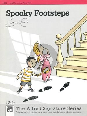 Rollin Spooky Footsteps Piano Solo (Late Elementary)