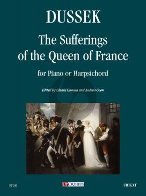 Dussek The Sufferings of the Queen of France for Piano or Harpsichord