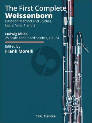Weissenborn The First Complete Weissenborn Method (Opus 8 Volumes 1 and 2 and Milde Opus 24) (Edited by Frank Morelli)